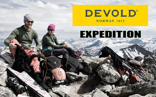 New collection Devold Expedition