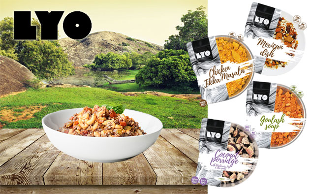 LyoFood - dehydrated meals