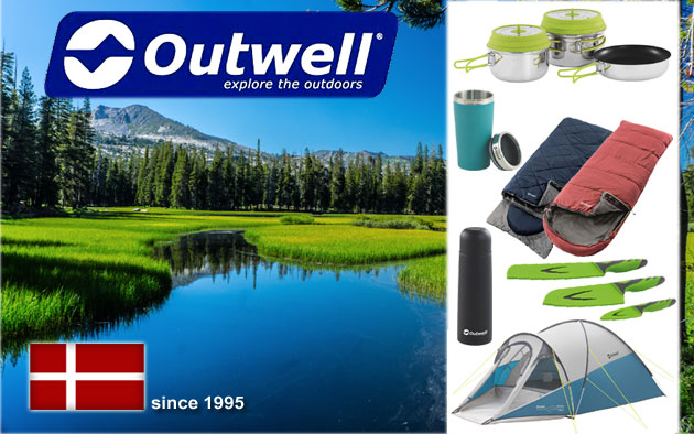 Outwell - tents, sleeping bags, camping equipment