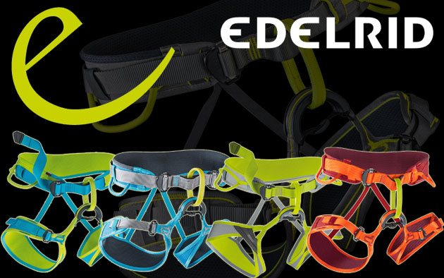 Edelrid Harnesses.