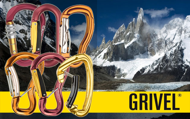 Grivel Carabiners.