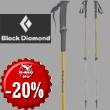 16.12. - Black Diamond Trail Sport Poles with 20% discount