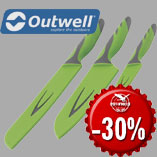 18.12. - Outwell Knife Set with 30% discount