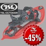 19.12. - TSL 305 Explore Easy Snowshoes with 45% discount!