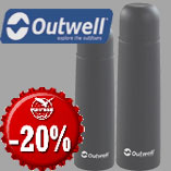 21.12. - Outwell Agita Stainless Steel Vaacum Bottle with 20% discount