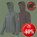 14.12. Only today - Mammut Ascona Jacket wit 60% discount.