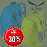 15.12. - Only today - Salewa Urban Packs with 30% discount.