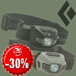 16.12. - Only today headlamp Black Diamond ReVolt with discount 30%