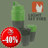 17.12. - Only today - Light My Fire Pack-up-Drink Kit with discount 40%.