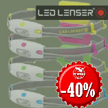 20.12. Only Today - Headlamps Led Lenser Neo with 40% discount.