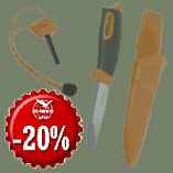 4.12. - Swedish Knife from Light My Fire only today with 20% discount