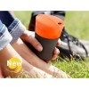 LIGHT MY FIRE Pack-up-Cup orange (Obr. 1)