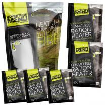 Meals and Sports Nutrition ADVENTURE MENU All-In Flameless Heating System