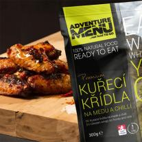 Meals and Sports Nutrition ADVENTURE MENU - Chicken wings on honey and chilli