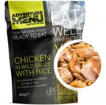 Meals and Sports Nutrition ADVENTURE MENU - Chicken in wild sauce and rice
