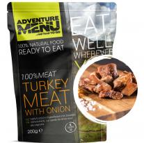 Meals and Sports Nutrition ADVENTURE MENU - 100% Turkey meat with onion
