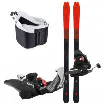 Skiing and Freeride set ATOMIC Backland 78 + Fritschi Xenic 10 + Skin 78