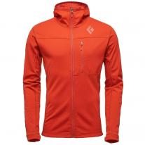 Fleece Jackets BLACK DIAMOND M CoEfficient Hoody rust
