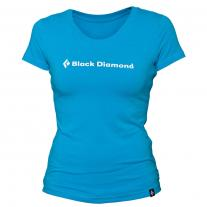 tričko BLACK DIAMOND ID Tee Women´s Vivid Blue