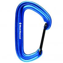 Non-locking carabiners carabiner BLACK DIAMOND LiteWire Blue