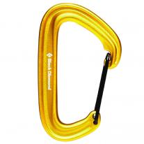Non-locking carabiners carabiner BLACK DIAMOND LiteWire Yellow