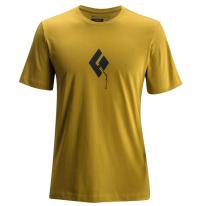 Outdoor Clothing BLACK DIAMOND M SS Placement Tee curry