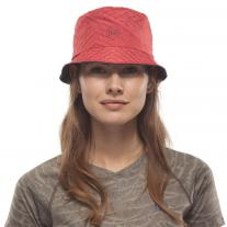 Accessories BUFF Travel Bucket Hat Collage Red-Black
