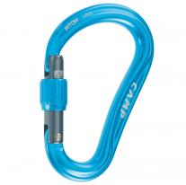 Presents for climbers carabiner CAMP Atom Lock blue