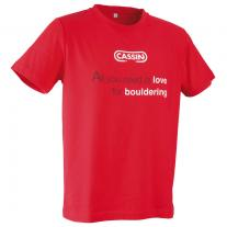 CASSIN Boulder T-shirt red