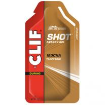 CLIF Shot Energy Gel Mocha + Caffeine