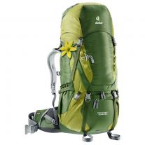 Backpacks to 60L DEUTER Aircontact 50+10 SL pine-moss