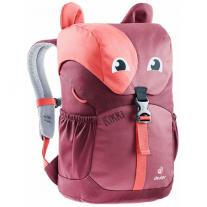 Presents for children backpack DEUTER Kikki cardinal-maron