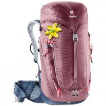 Backpack & Bag backpack DEUTER Trail 28 SL maron-navy