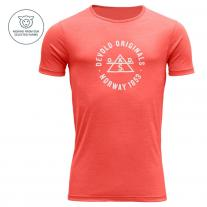 New Products DEVOLD Original Man Tee cayenne