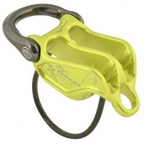 Belay devices, pulley DMM Pivot Belay Device lime/titanium