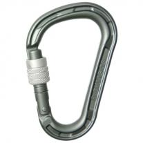 Screw-Lock carabiners EDELRID HMS Magnum Screw slate