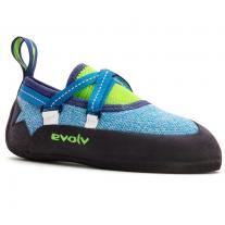 Presents for children climbing shoes EVOLV Venga Blue/Neon Green
