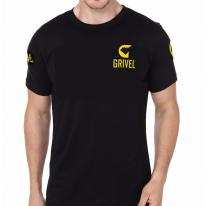 GRIVEL T-Shirt Logo black
