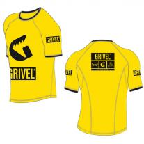 Outdoor Clothing GRIVEL Technical T-Shirt yellow