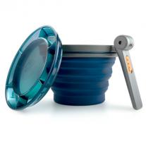 GSI OUTDOORS Collapsible Fairshare Mug blue