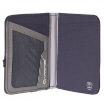 Presents for hikers LIFEVENTURE RFiD Card Wallet navy