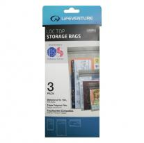 LIFEVENTURE Loc-Top Storage Bags 3pack