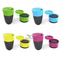 hrnčeky LIGHT MY FIRE Pack-up-Cup 4-pack