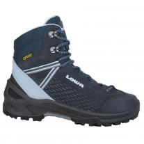 Hiking boots shoes LOWA Ledro GTX Mid JR navy/light blue