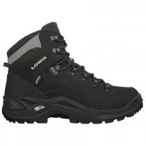 Hiking boots shoes LOWA Renegade GTX Mid black/pebble
