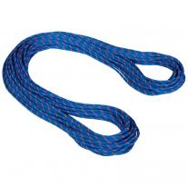 Ropes - twin, double rope MAMMUT 7.5 Alpine Sender Dry 60m blue