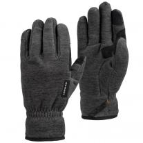 MAMMUT Fleece Glove black mélange