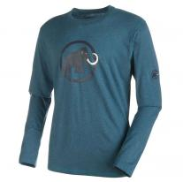 Outdoor Clothing MAMMUT Logo Longsleeve Men orion mélange