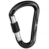 carabiner MAMMUT Nordwand HMS Screw Gate Black