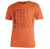 Outdoor Clothing MAMMUT Sloper T-Shirt Men dark orange